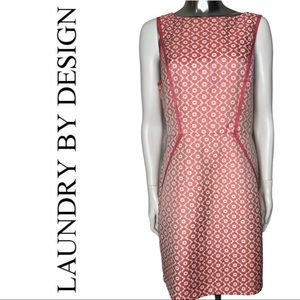Laundry by Design Vintage Inspired Sheath Floral Dress